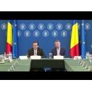 Rencontre du Premier ministre par intérim, Ludovic Orban, avec le président de la Roumanie, Klaus Iohannis, sur la situation causée par le coronavirus